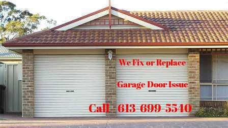 Garage Door Repair Stittsville Canadian Doors